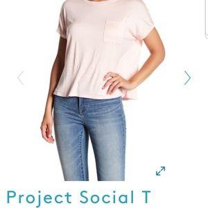 Project Social T Crew Short Sleeve Pocket Tee